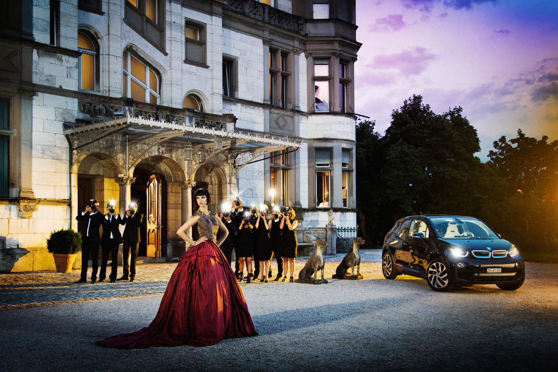 BMW I Hair, Makeup & Manicure: Melanie Volkart Model: Patricia Schmid Photographer: Thomas Buchwalder Styling: Yvonne Reichmuth