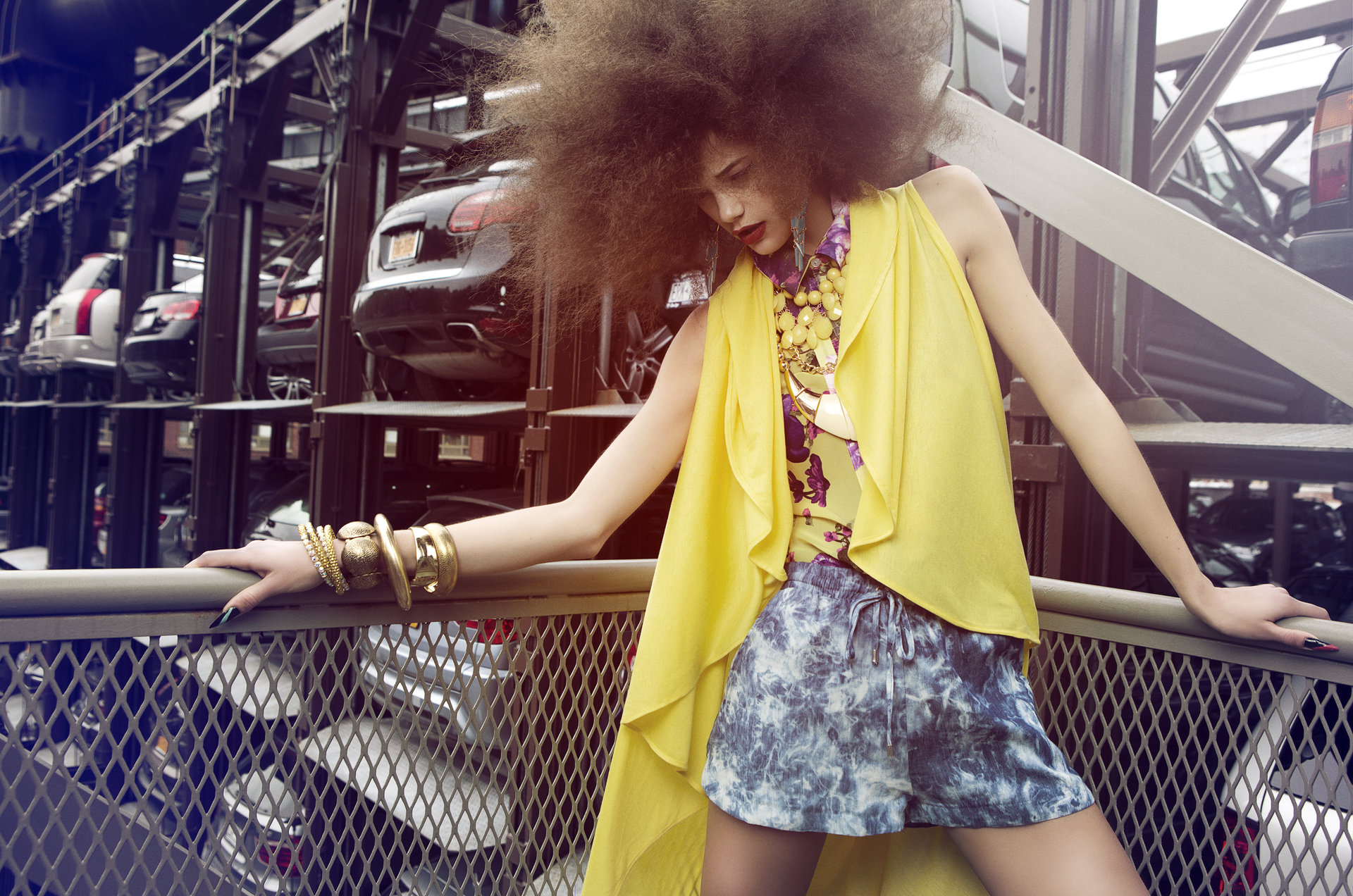 b ATTIKA MAGAZINE Hair, Makeup & Manicure: Melanie Volkart & Fabienne Pauli  Photography: Ellin Anderegg  Styling: Lili Halide-Farizi  Model: Anja Fotogen Modelmanagement AG