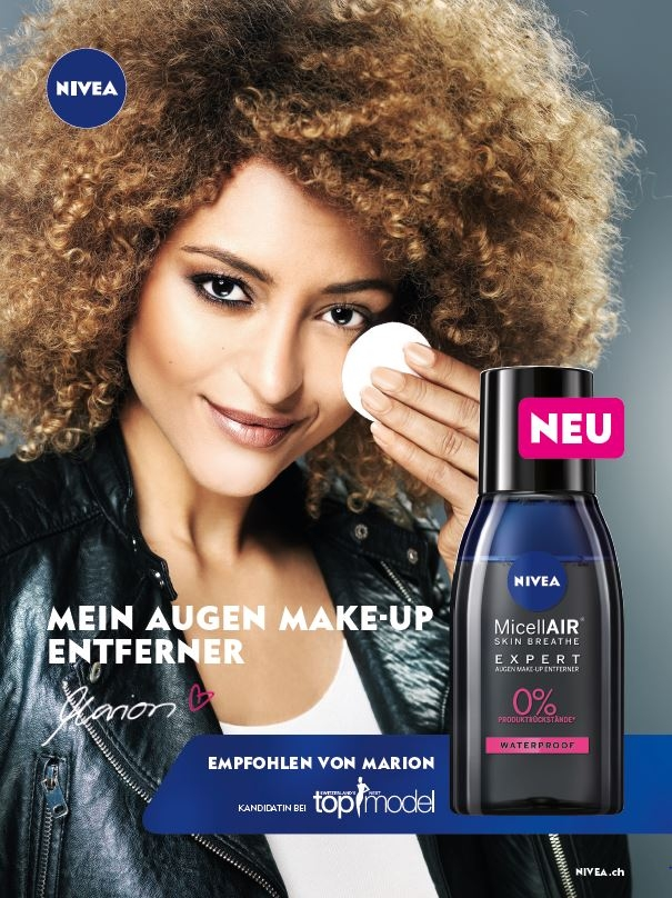 NIVEA SWITZERLAND NEXT TOP MODEL Photographer: Thomas Buchwalder Hair & Makeup: Melanie Volkart